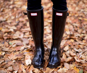 autumn, hunter, and boots image