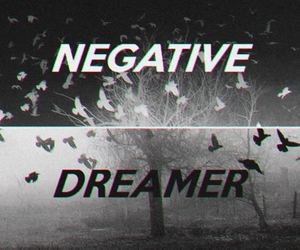 Darkness, dreams, and negative image
