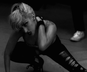 black and white, gaga, and mother monster image