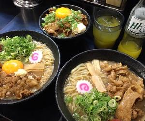 japan, ラーメン, and ramen image