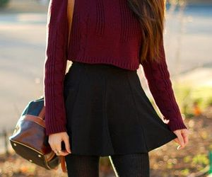 autumnal, fashion, and street style image