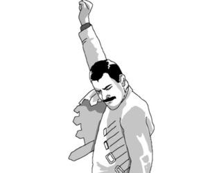 Freddie Mercury, meme, and freddie mercury meme image