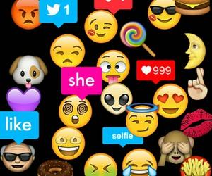 angry, moon, and emoji image