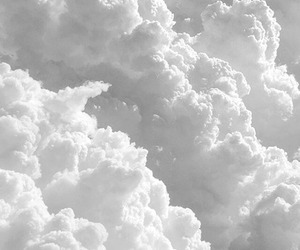 sky and white image