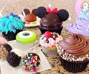disney, cupcake, and food image