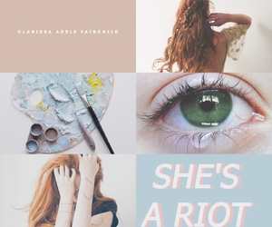 ginger, red hair, and city of bones image