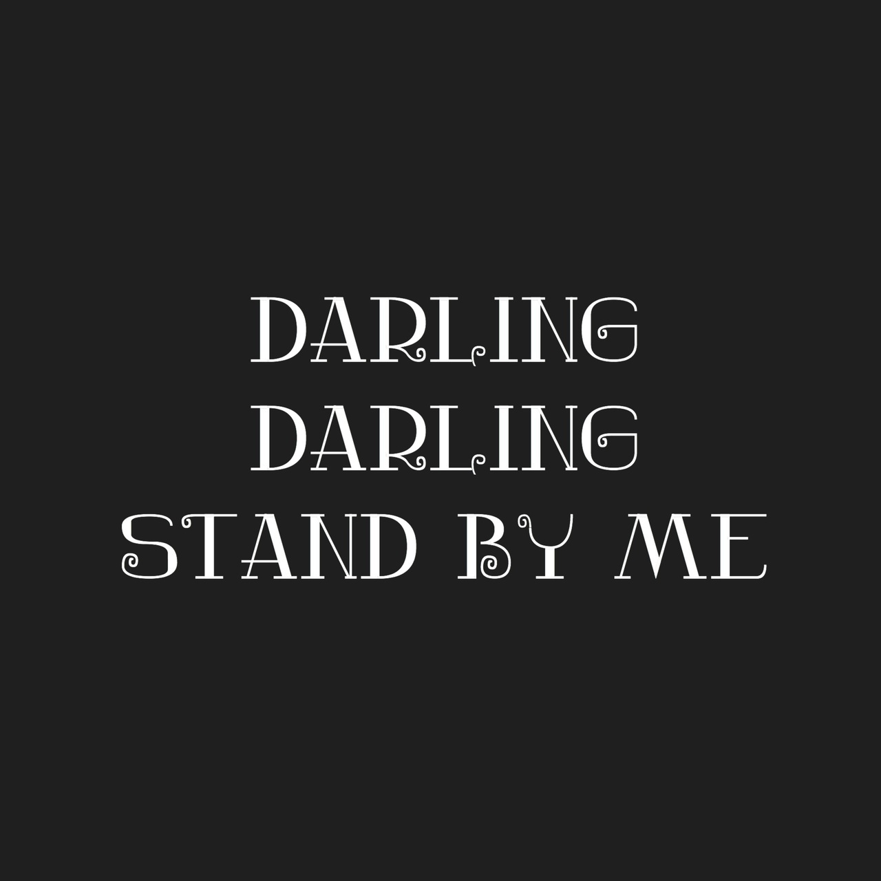 by, darling, and lyric image