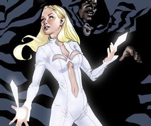 dagger, girl, and Marvel image