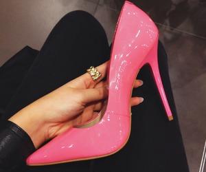 fashion, heels, and OMG image