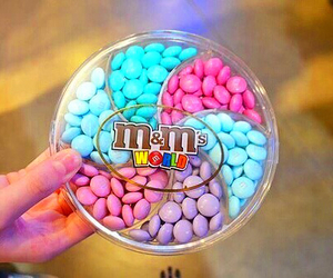 food, m&m's, and m&m image