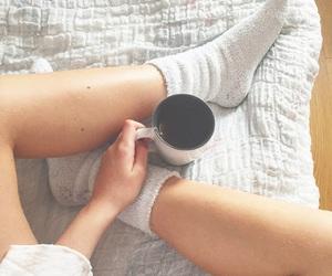 adidas, autumn, and coffe image