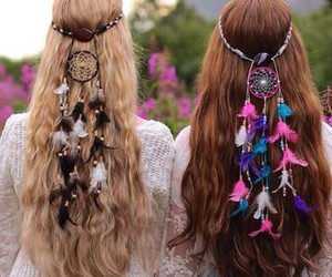 fashion, hair accessories, and hairstyles image