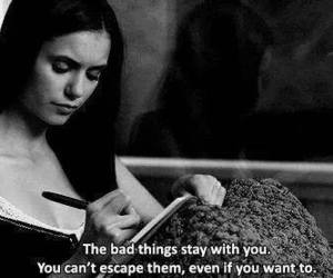 quotes, the vampire diaries, and Nina Dobrev image