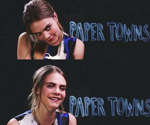 model, cara delevingne, and paper towns image