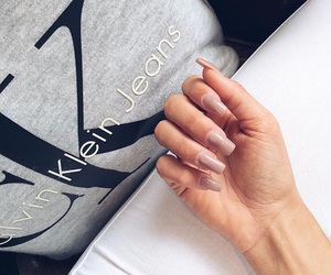 nails and Calvin Klein image