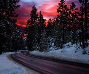photography, snow, and beautiful image