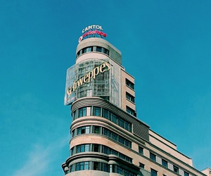 city, madrid, and building image