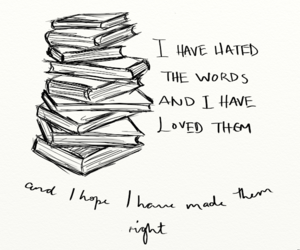 book, hate, and reading image