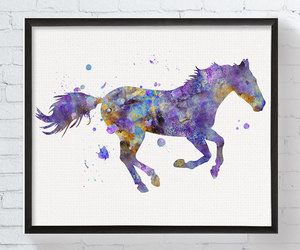 animal, art, and horse image