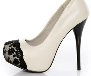 shoes, lace, and white image