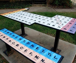 table, funny, and periodic table image