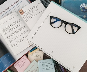 study, note, and school image