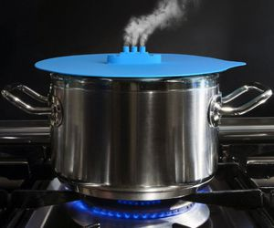 cooking, home, and lid image
