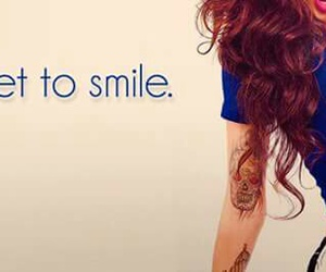 smile and superwoman image