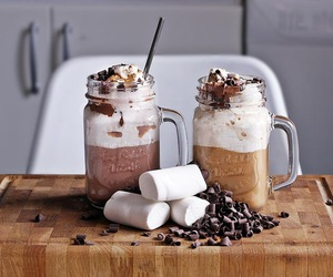 chocolate, chocolate chip, and coffee image