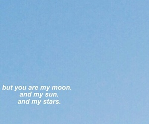 quotes, blue, and moon image
