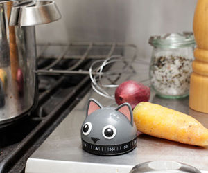 cat, cooking, and design image