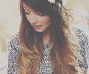 zoella, hair, and zoe image