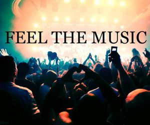 music, feel, and text image