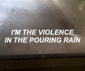 hurricane, pouring, and rain image