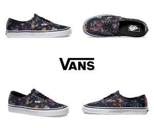 fashion, vans off the wall, and shoes image