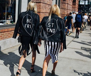 fashion, best friends, and girl image