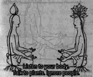 plants, people, and body image