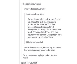 books, text post, and bookworm image