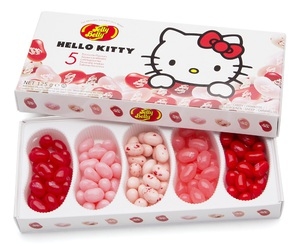 hello kitty, jelly beans, and jelly belly image