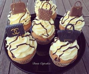 cupcake, food, and chanel image
