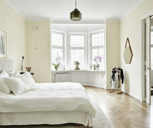 bed, bedroom, and pretty image