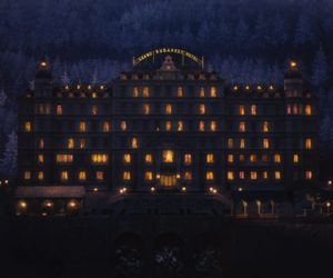 the grand budapest hotel and wes anderson image