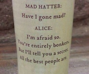 afraid, words, and alice image