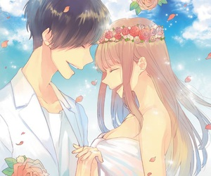 vocaloid, anime couple, and megurine luka image