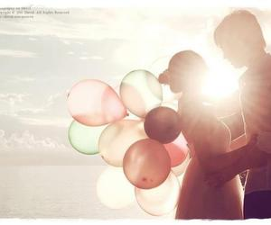 balloons, cute, and boy image