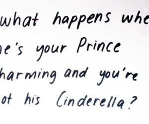 prince, quote, and cinderlla image