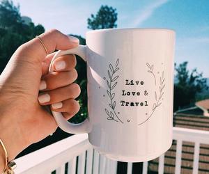 travel, love, and live image