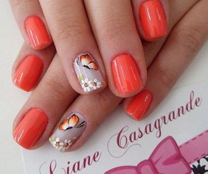 girl, decoracion de uñas, and nail image