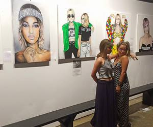 art, Jourdan Dunn, and wynwood image