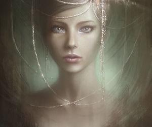 beauty and fantasy image
